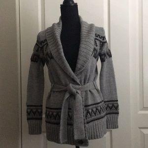Bass XS Long button Sweater